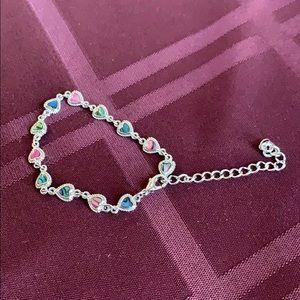 Jewelry - Colorful heart bracelet